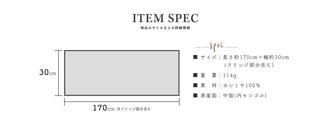 ITEM SPEC