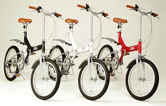 6段リアサスペンション付の折畳自転車