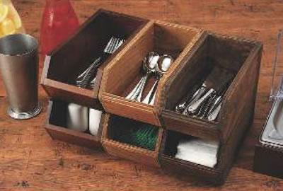 木製オーガナイザーボックス