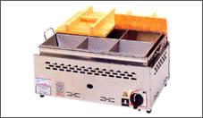 平型二重 湯煎式 おでん鍋(4ツ切)ON-112