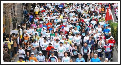 マラソン大会様子