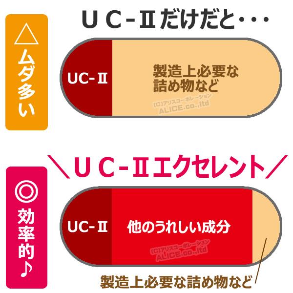 UC-II エクセレント 配合 効率よく 厳選 相乗効果 配合