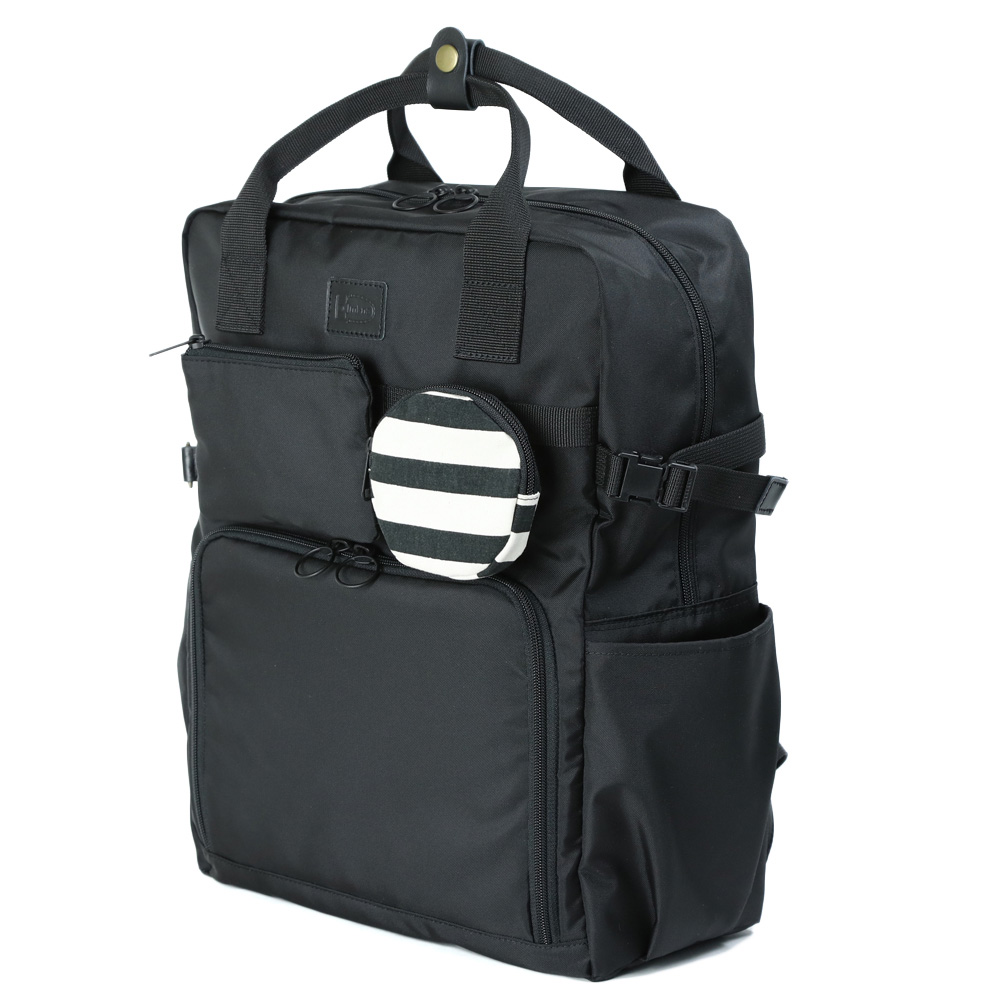 相機袋單反相機袋相機背包 MI NA Mina 時尚 skealuc / 黑色