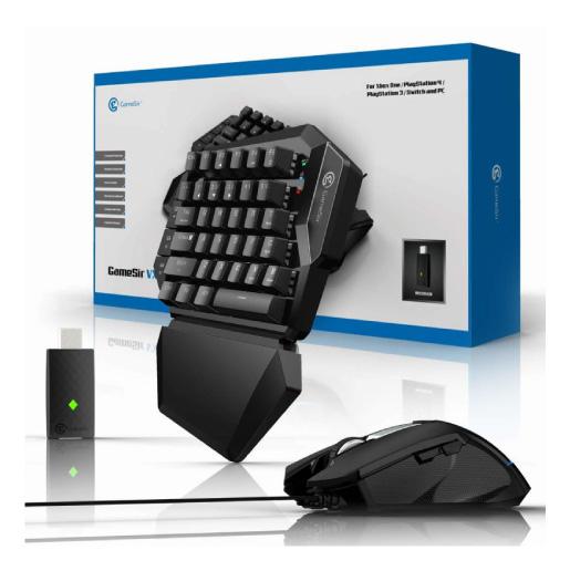 2点 セット Bタイプ ゲーミング 左手 片手 キーパッド マウス 一式 キーボード USB 有線 遅延無し 耐用性 構造 ゲーム FPS プレステ4 PC パソコン 対応 送料無料