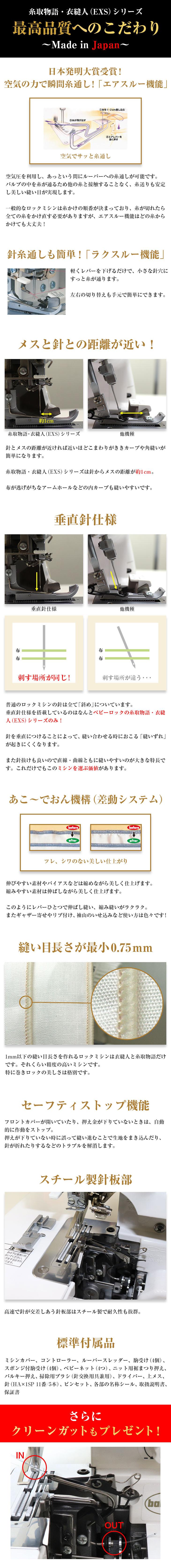 BL5700EXS 最高品質へのこだわり 〜Made in Japan〜
