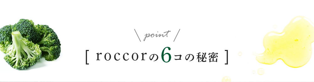 マンデイムーンの roccor-ロッコル-の6個の秘密