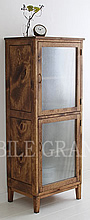 2Doors Glass Cabinet