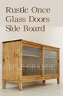Glass Doors Side Board