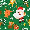 クリスマスフォレスト緑