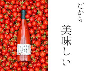 トマトジュース 北海道 富良野 ミニトマト 味が濃い 朝採れ 産地直送