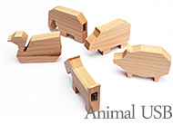 Animal-shaped USB memory