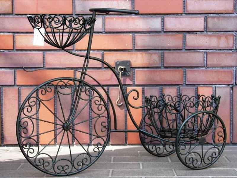 ★★白色欧式风格的设计型三轮车播种机