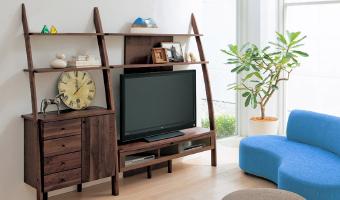 木製インテリア家具シリーズの設置例1