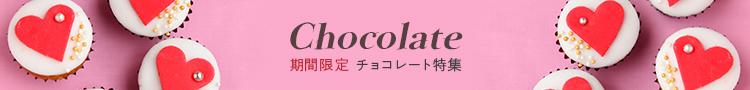 期間限定 チョコレート特集