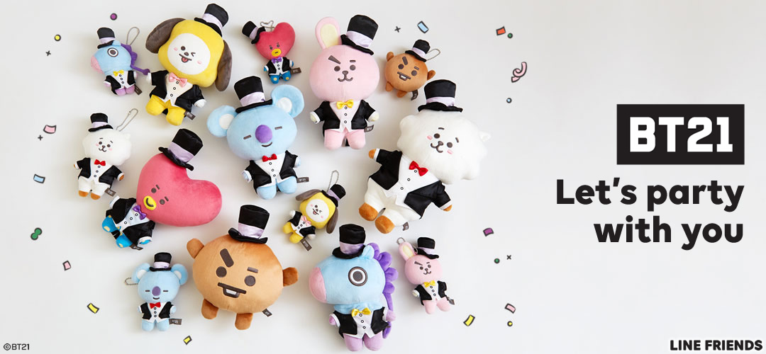 BT21 Let's Party with you キャラクターグッズ