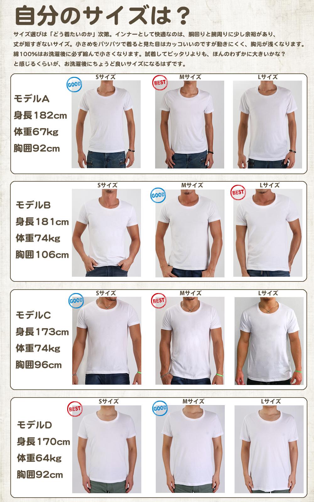 エジプト綿GIZA100%Tシャツ
