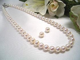 真珠ネックレスセット