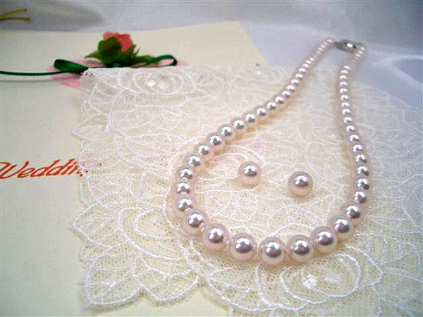花珠真珠,ネックレス