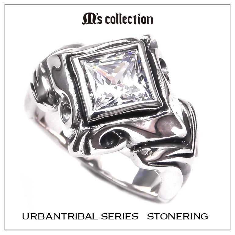 M's collection エムズコレクション アーバントライバルシリーズ リング メンズ シルバーアクセサリー XR-001
