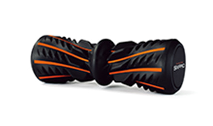 三種の突起で、足裏を刺激。筋肉を緩めてセルフストレッチを実現。 Foot Roller(フットローラー)