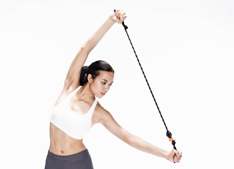 Exercise Band 肩甲骨まわりをストレッチし、健やかで美しい身体へ。