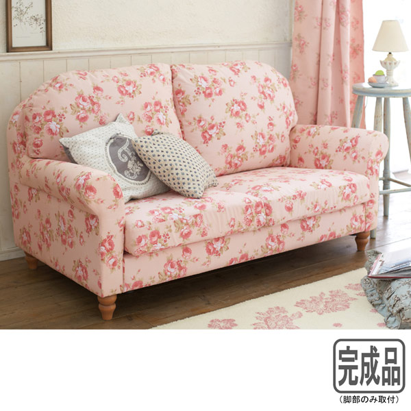 Mutow rakuten global market floral couch ey sofa sofa for Floral sofa bed