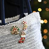 ウィンターブローチ(クリスマスブーツ)
