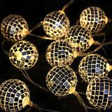 ライトミラーボール(電球色)