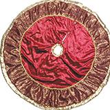 95cmロイヤルグレイスツリースカート(クラレット)