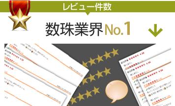 楽天市場「仏壇仏具ジャンル」レビュー件数No1