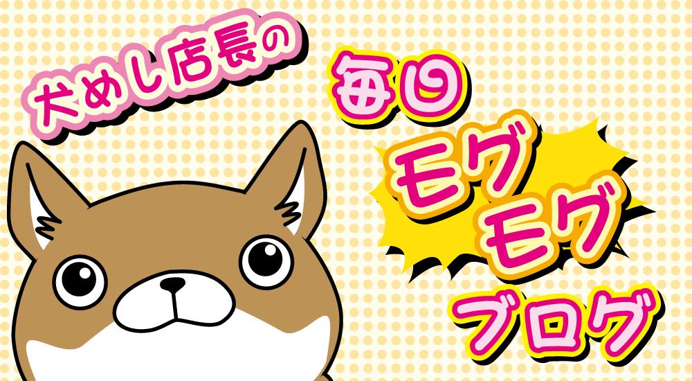 犬めし店長の毎日モグモグブログ