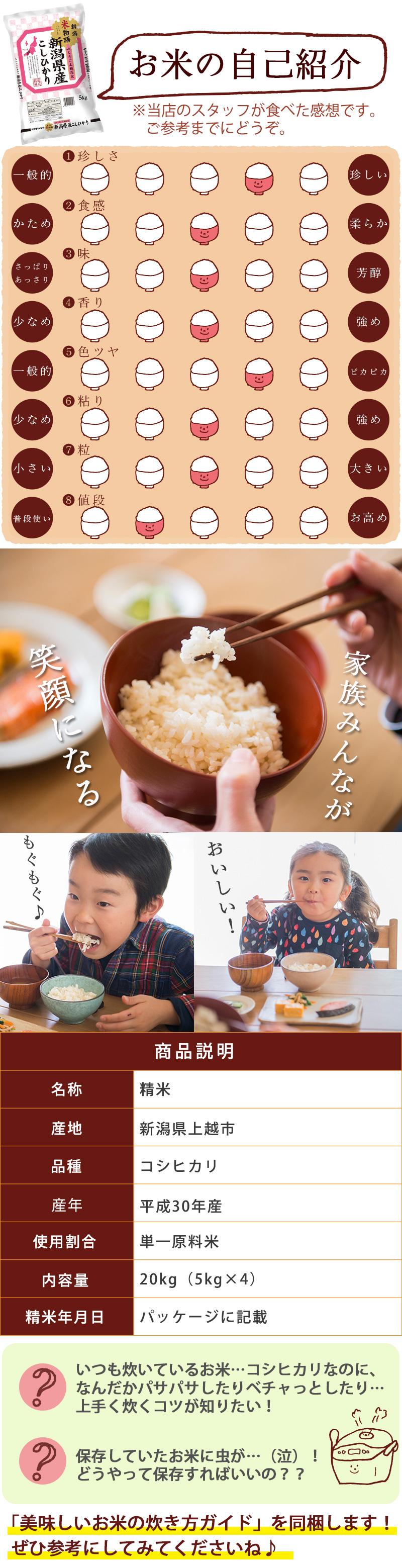 お米の自己紹介