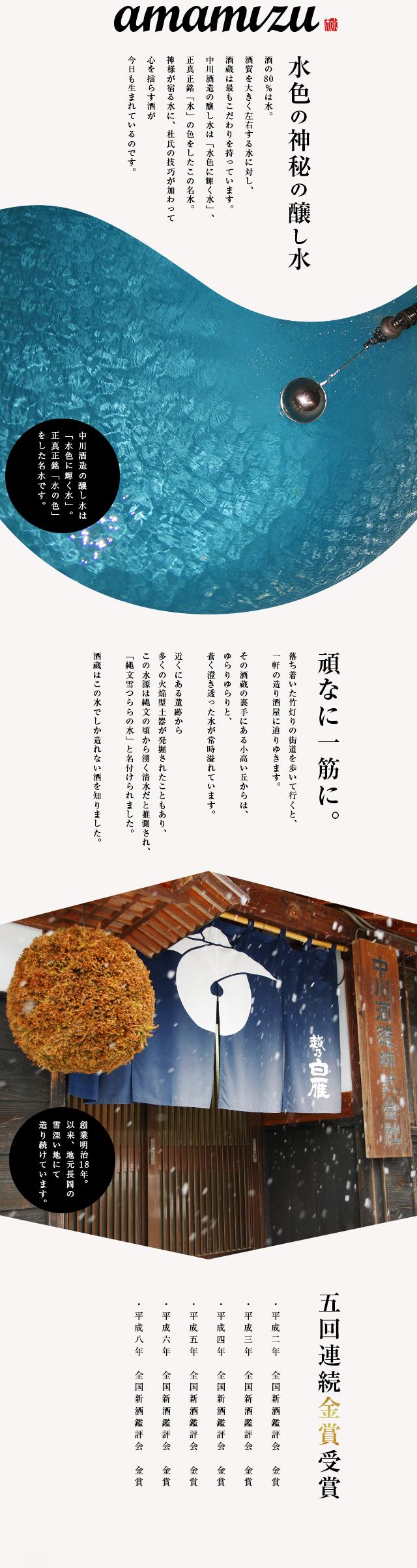 中川酒造紹介