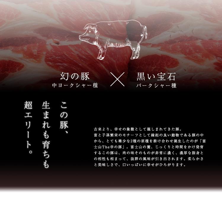 Theお肉-福ギフト 富士山 幸の豚
