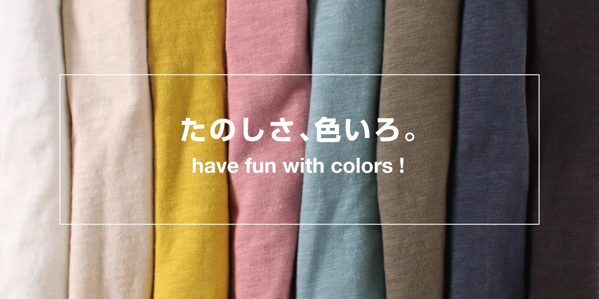 色で選ぶnoa department store.のTシャツ