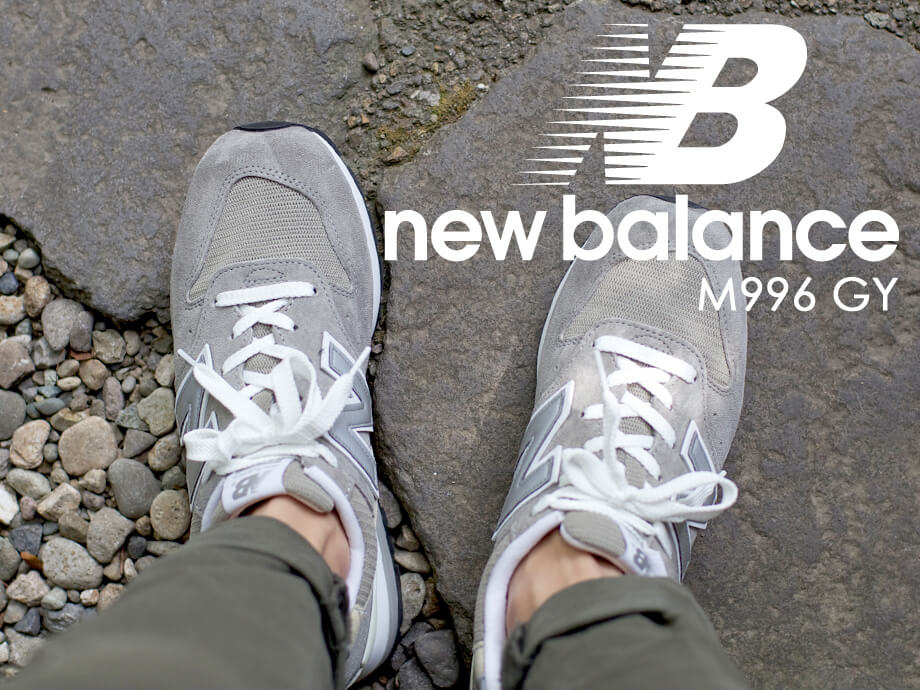 new balance ニューバランス 996 スニーカー MADE IN USA M996 GY Dワイズ メンズ 靴 グレー [8/1 追加入荷] [178]