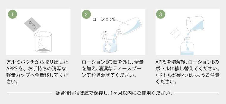 パックや美顔器(イオン導入appsロポレーション、超音波導入)に使う場合