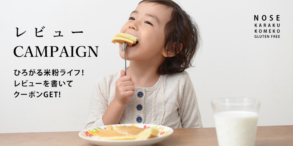 のせ菓樂のレビューキャンペーン