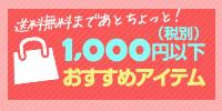 1000円以下コーナー