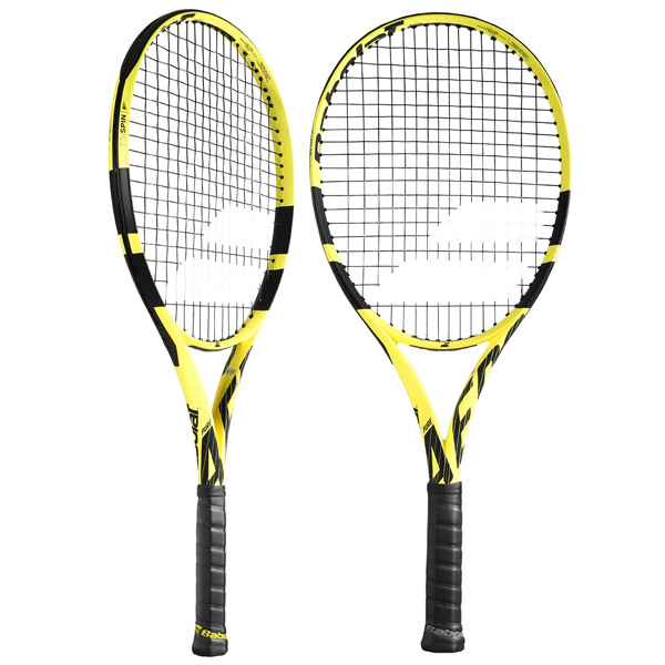 バボラ ジュニアテニスラケット ピュア アエロ・ジュニア 26 (ガット張上げ済) (BF140253)