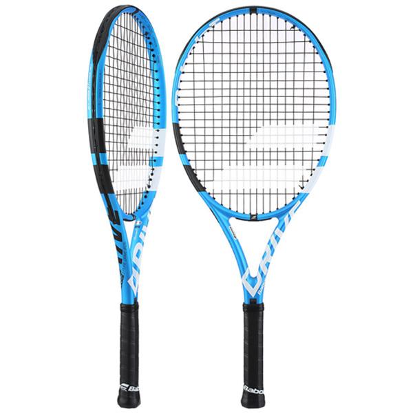 バボラ ジュニアテニスラケット ピュアドライブ・ジュニア 26 (ガット張上げ済) (BF140222)
