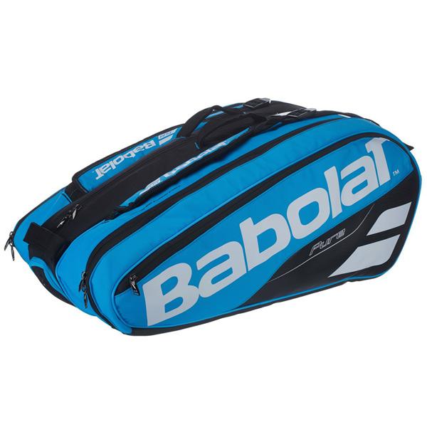 バボラ テニス ラケットバッグ ピュアライン ラケットホルダー ×12 (ラケット12本収納可能) ブルー (BB751169)
