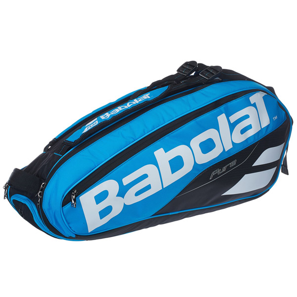 バボラ テニス ラケットバッグ ピュアライン ラケットホルダー ×6 (ラケット6本収納可能) ブルー (BB751171)