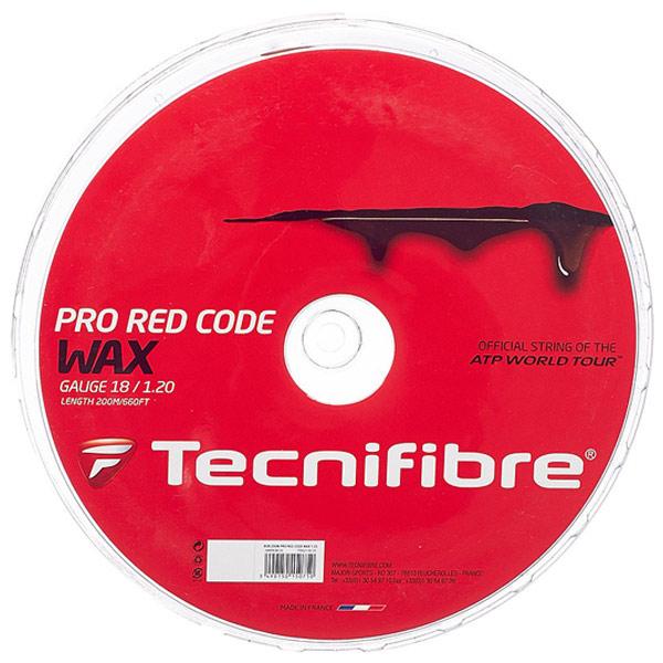 テクニフィバー ガット プロ レッド コード ワックス (200mロールガット)