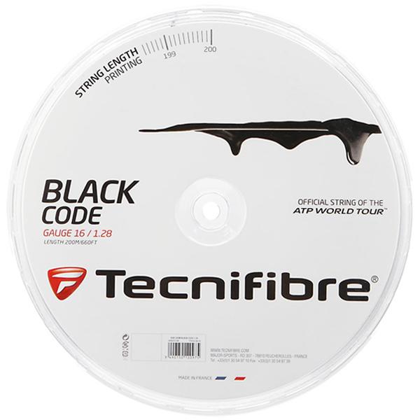 テクニフィバー ガット ブラックコード (200mロールガット)