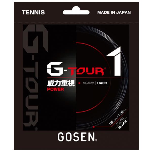 ゴーセン ガット G-TOUR1 1.25mm/16LGA (TSGT11)
