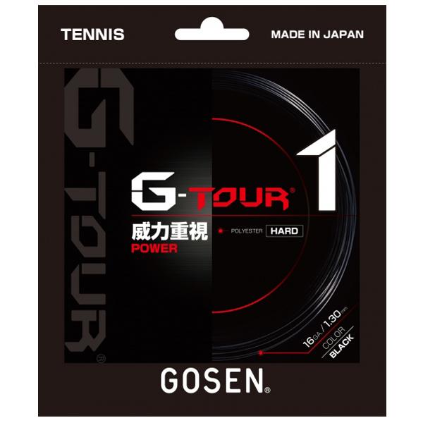 ゴーセン ガット G-TOUR1 1.30mm/16GA (TSGT10)