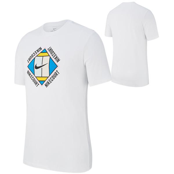 ナイキ メンズ テニスウェア コート OZ GX Tシャツ (AO1139・100)