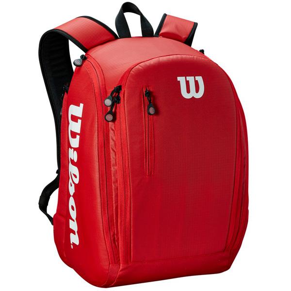 ウィルソン テニス バッグ TOUR BACKPACK RED (ラケット2本収納可能) (WRZ847996)