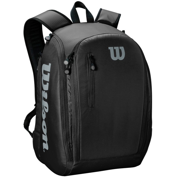 ウィルソン テニス バッグ TOUR BACKPACK BLACK (ラケット2本収納可能) (WRZ843995)